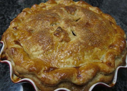 Classic Apple Pie | Pork Cracklins
