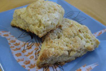 Sour Lemon Scones | Pork Cracklins
