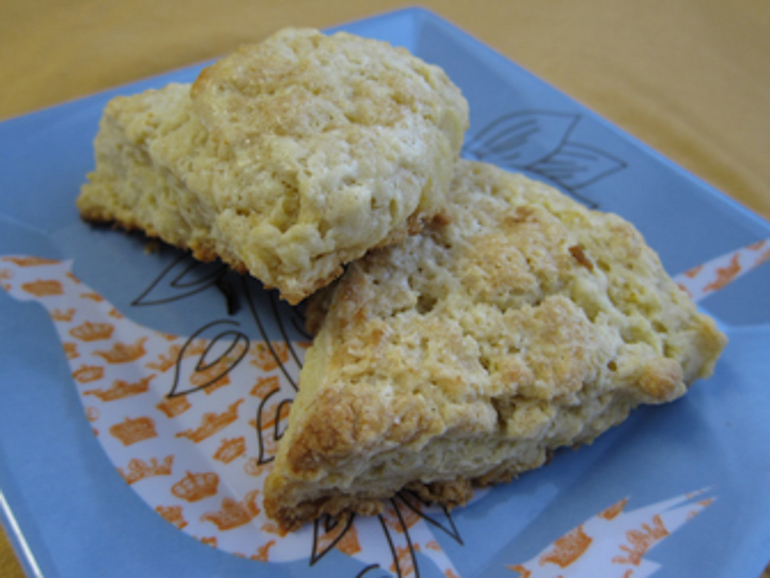 Sour Lemon Scones | Pork Cracklins