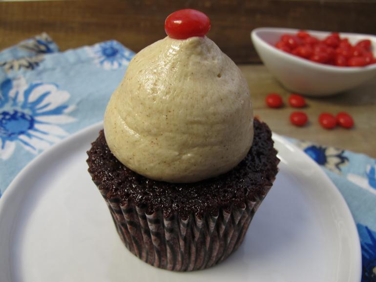 Red Hot Velvet Cake with Cinnamon Buttercream
