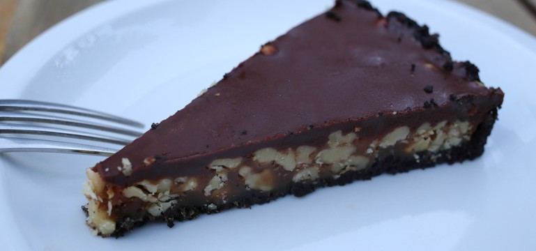 Easy Candy Bar Tart | Pork Cracklins