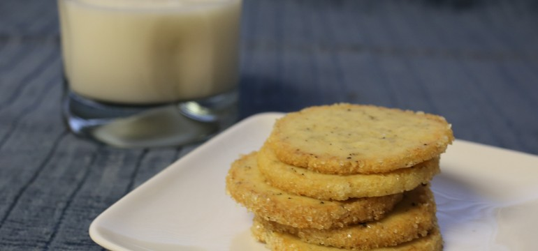 Lemon Pecorino Pepper Icebox Cookies | Pork Cracklins
