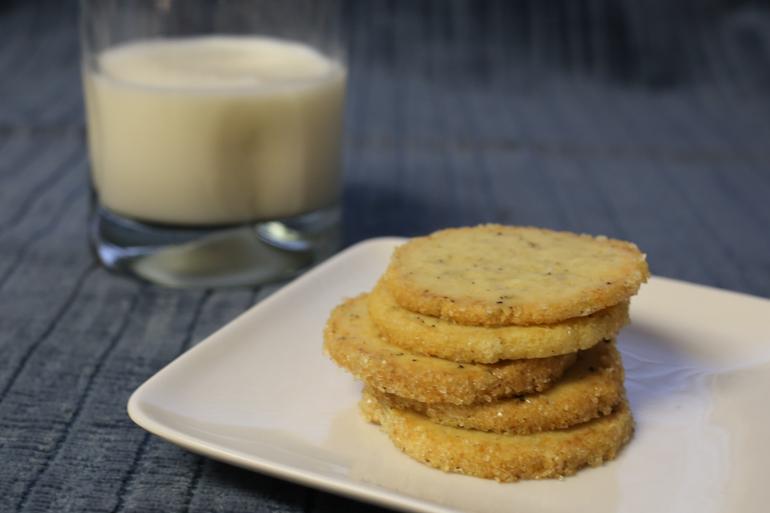 Lemon Pecorino Pepper Icebox Cookies | Pork Cracklins