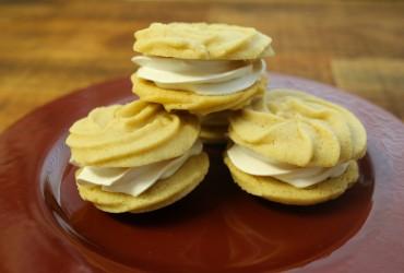 Cinnamon Spritz Sandwich Cookies | Pork Cracklins