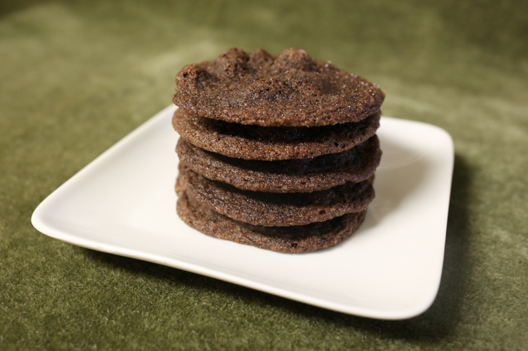 Chewy Chocolate Mint Cookies | Pork Cracklins