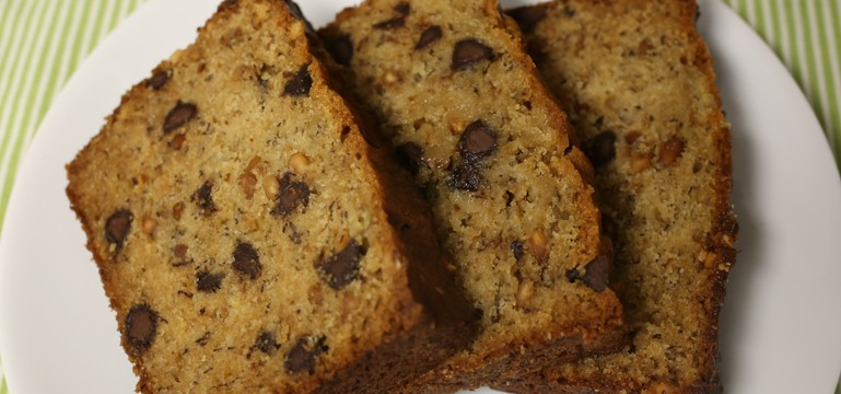 Crunchy Peanut Butter Banana Bread | Pork Cracklins