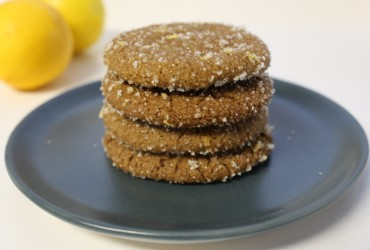 Gingersnaps with Lemon Sugar | Pork Cracklins