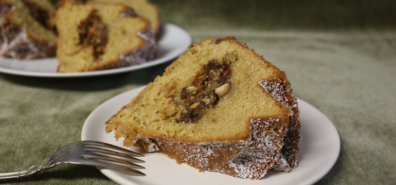 Toffee Coffee Cake Surprise | Pork Cracklins