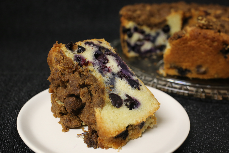 Nonnie's Blueberry Buckle | Pork Cracklins