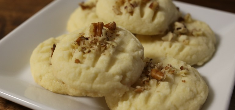 Whipped Shortbread | Pork Cracklins