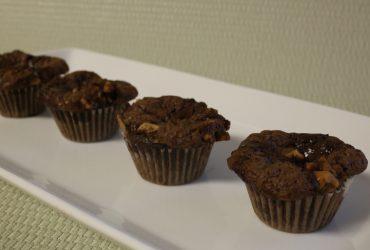 Mini Chocolate Brownie Cupcakes   Pork Cracklins