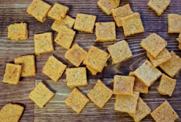 Kimcheez-Its | Pork Cracklins