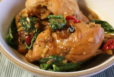 Vietnamese Caramel Chicken | Pork Cracklins