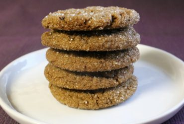 Ginger-Molasses Cookies | Pork Cracklins