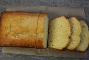 Iced Almond-Lemon Loaf Cake | Pork Cracklins