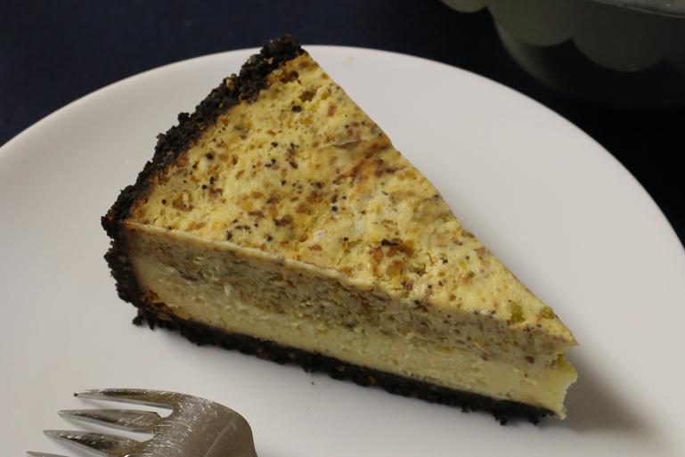 Pistachio White Chocolate Cheesecake | Pork Cracklins