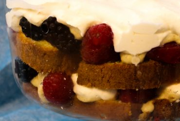 Chai Spice Trifle with Mixed Berries | Pork Cracklins