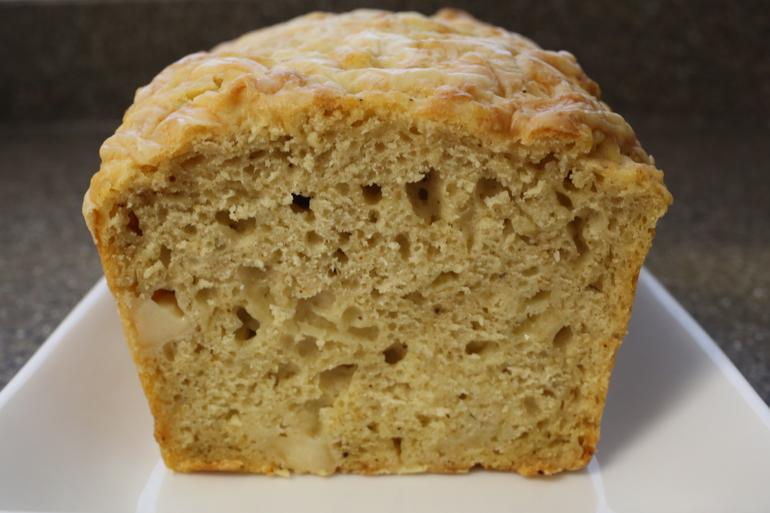 Cheesy Bastille Day Beer Bread | Pork Cracklins