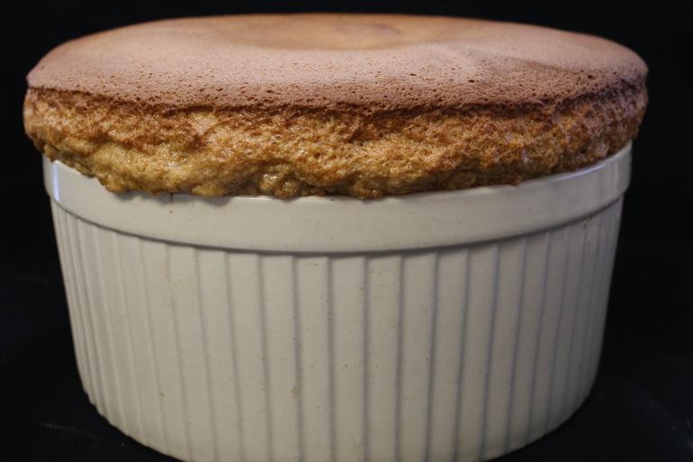 Salted Caramel Souffle | Pork Cracklins