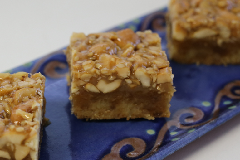 Sesame Cashew Bars | Pork Cracklins