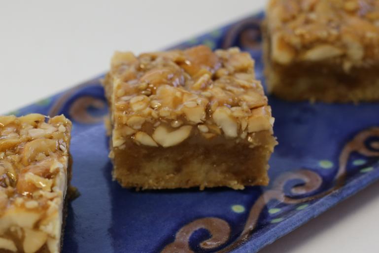 Sesame Cashew Bars | Pork Cracklins
