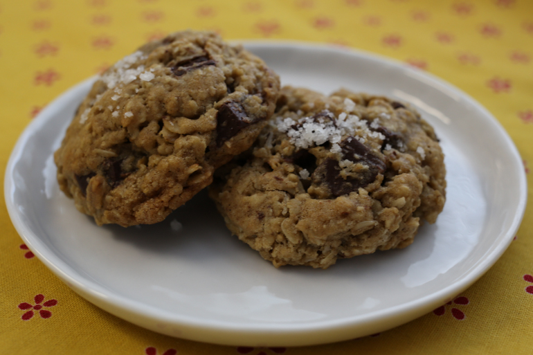 Old-School Oatmeal Chocolate Chip Cookies | Pork Cracklins