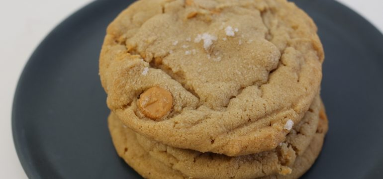 Peanut Butter Butterscotch Cookies | Pork Cracklins
