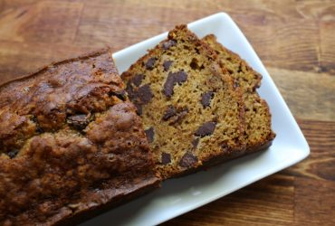 Pumpkin Chocolate Chip Loaf | Pork Cracklins