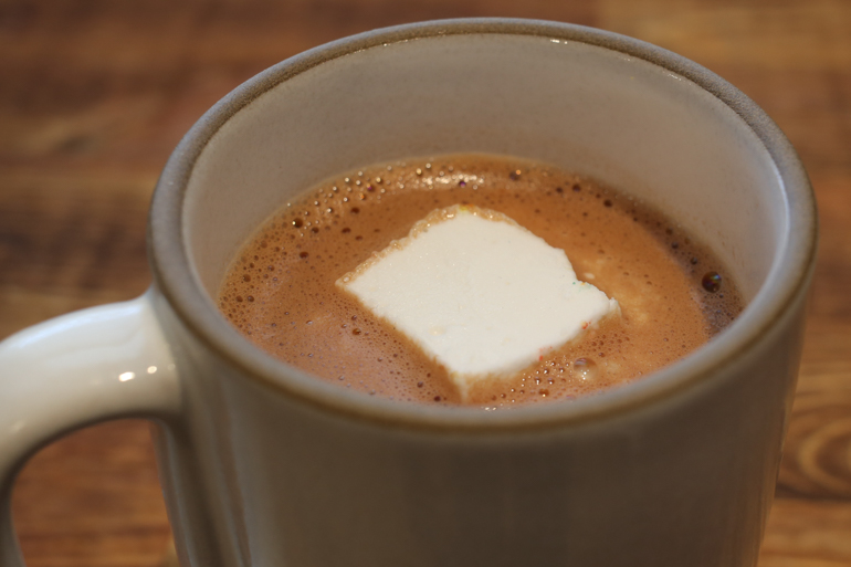 Adult Hot Chocolate | Pork Cracklins