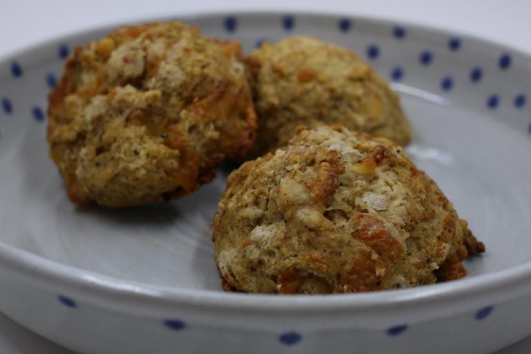 Chipotle Cheddar Biscuts | Pork Cracklins