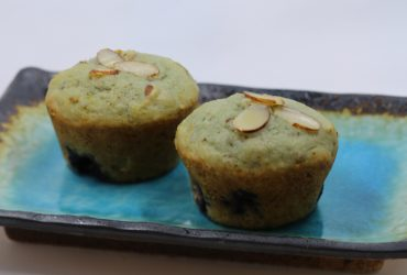 Orange Almond Blueberry Muffins